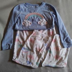 Carter's 2pc. Pajama Set Girls Size 10